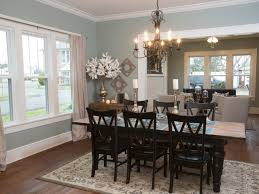 Wallpaper Ideas For Dining Room Classy 70 Craftsman Dining Room Decorating Design Ideas Of