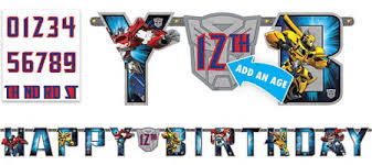 printable transformers birthday banner transformers party supplies transformers birthday party city canada