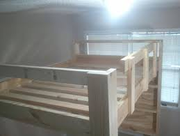 how to build a full size loft bed u2013 more ideas for bunks craft