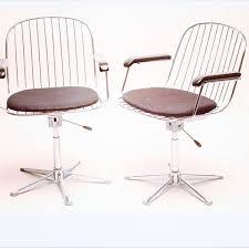 wire back swivel office chair