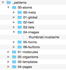 ui pattern names tools of the trade atomic design by brad frost