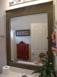 mirrors outstanding large wood framed mirror ikea large wood