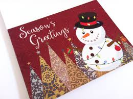 handmade snowman christmas cards christmas lights decoration