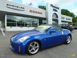 Nissan 350z Blue - 2007 daytona blue metallic nissan 350z touring roadster 66337930