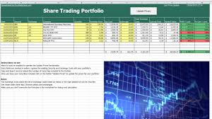 Tracking Spreadsheet Template Excel Free Trading Portfolio Excel Help Desk
