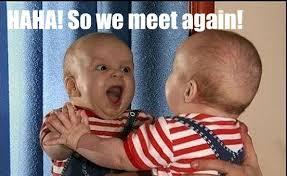Triumphant Baby Meme - triumphant baby