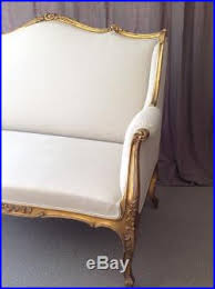 Antique French Settee Antique French Loveseat Settee Canapé Sofa Antiques Sofas