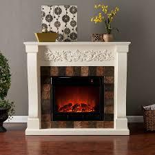 Fireplace Mantels Electric Holly U0026 Martin Calgary Electric Fireplace Ivory Holly U0026 Martin