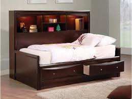 Diy Twin Bed Frame With Storage Bedroom Diy Home Project With Comfortable Daybed With Storage