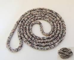 beads crochet necklace images 331 best beads crochet lariat necklace images bead jpg