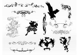 ornament tattoo free vector art 6838 free downloads
