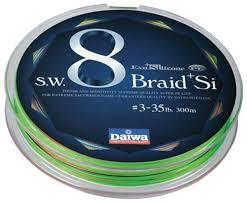 si e v o daiwa sw8 braid si evo silicone pe braid 300m anglers warehouse