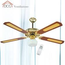 ventole da soffitto con luce ventilatore da soffitto 4 pale con telecomando dcg eltronic