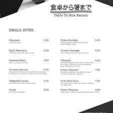 table to stix evanston photos for table to stix ramen menu yelp