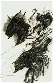 unfinished dragon sketches by blackvragor on deviantart
