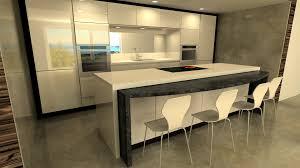 cuisine avec ilot central et table cuisine avec ilot central et table particulièrement extérieur