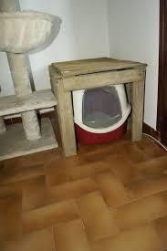 fabriquer cache poubelle cache litiere joli bac à litiére ou maisonnette bois chats forum