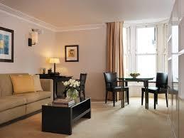 one bedroom apartment black table furniture sofa one bedroom flat london black dining