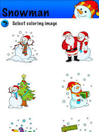 kids christmas coloring pages free santa claus christmas