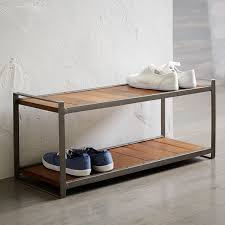 Shoe Rack by Industrial Shoe Rack West Elm