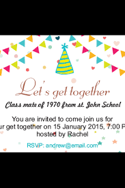 buy personalized get together invitation cards in india