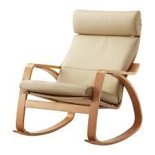 ikea sedie e poltrone po繖ng sedia a dondolo glose avorio ikea