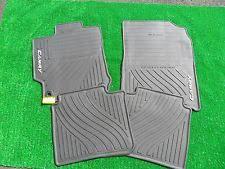 toyota camry oem floor mats 2012 2014 camry floor mats all weather black 4pc genuine toyota