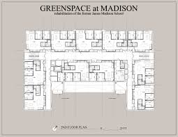 Madison Residences Floor Plan by Greenspace At Madison U2014 R D Architecture Lehigh Valley Architecture