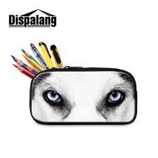 aliexpress com buy dispalang animal wolf pencil bags for