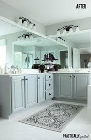 Bathrooms On A Budget Blah Basic U0026 Boring Becomes A Beautiful Bathroom On A Budget