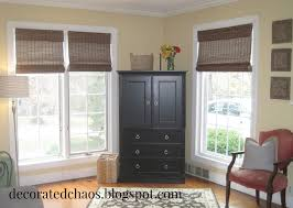 Bamboo Window Blinds Decorated Chaos New Bamboo Shades From Blinds Com