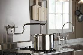 What Is A Pot Filler Faucet Farmhouse Neutrals Kitchen Kohler Ideas