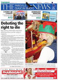parksville qualicum beach news november 25 2014 by black press
