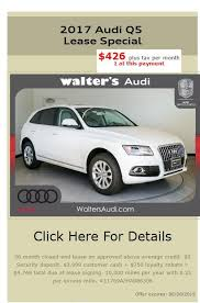 audi q5 average leaserank com lease offers for 2017 q5 from 91203 us