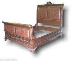 Oak Sleigh Bed King Sleigh Bed Ebay