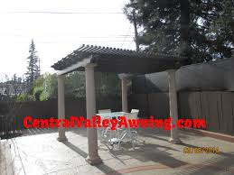 Aluminum Pergola Parts by Central Valley Awning And Patio