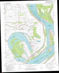 Ar Map Horseshoe Lake Topographic Map Ar Ms Tn Usgs Topo Quad 34090h3