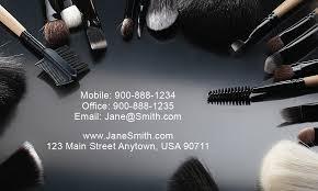 makeup artists business cards makeup artist business card design 601071