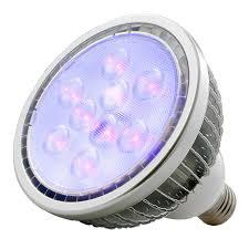 adj american dj blb18w 18 watt led uv blacklight bulb pssl