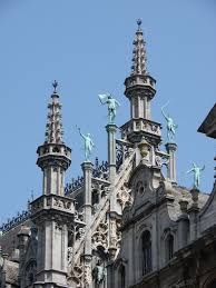 Roof Finials Spires by Free Images Roof Rooftop Building Statue Decoration Tower