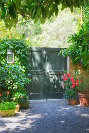 driveway gate ideas landscape eclectic with entry garden garden