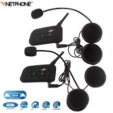 black friday motorcycle helmets 2pcs 1200m wireless bluetooth motorcycle helmet intercom 6 riders