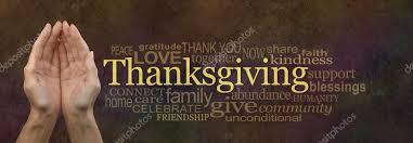 thanksgiving word cloud website banner stock photo healing63