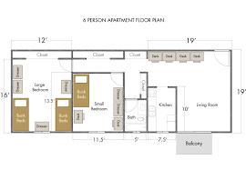 5 bedroom apartment floor plans 100 apartment floorplan ucsb u0026 sbcc 5 bedroom 2 bath
