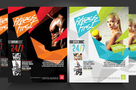 fitness flyer template fitness flyer photos graphics fonts themes templates