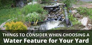 choosing a water feature for your colorado home paradise ponds