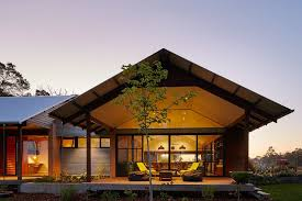 Modern Australian Farm House With Passive Solar Design - Modern country home designs
