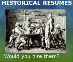 Resume Project Historical Figure Resume Project By History House Tpt