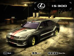 youtube lexus cars need for speed most wanted 2005 lexus is300 hd youtube