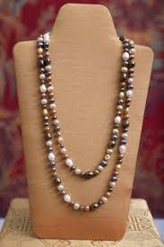 color pearl necklace images Fresh water multi colored pearl necklace jpg
